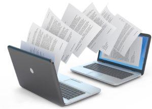 Подписание договоров с помощью электронной подписи путем обмена документами через электронную почту