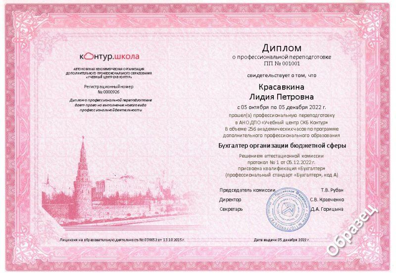 Диплом о профессиональной переподготовке - купиэцп.рф